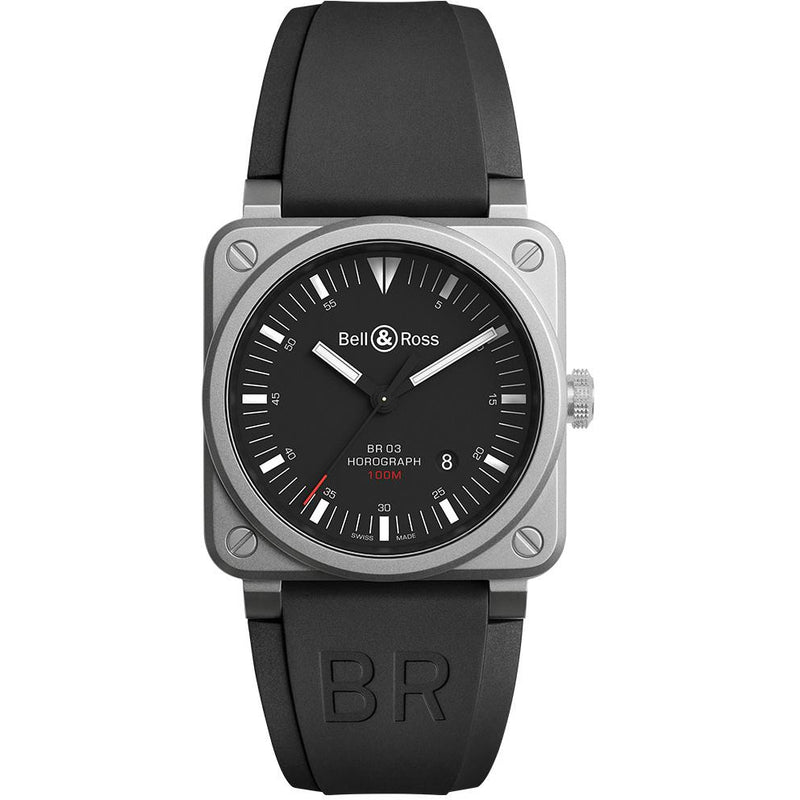 Bell and Ross Horograph BR03-92-HOR-BLC