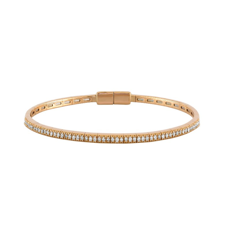 18kt Rose Gold Stacker Bangle