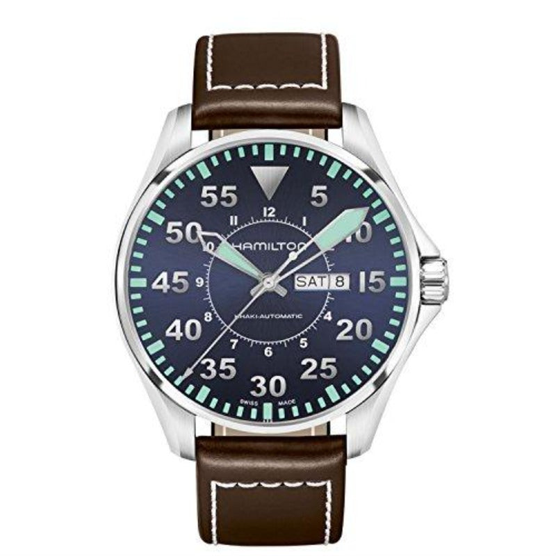 Hamilton Khaki Aviation Pilot Day Date Automatic H64715545