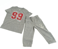 Kids Grey Sweatpants