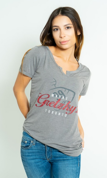Ladies Grey T-Shirt