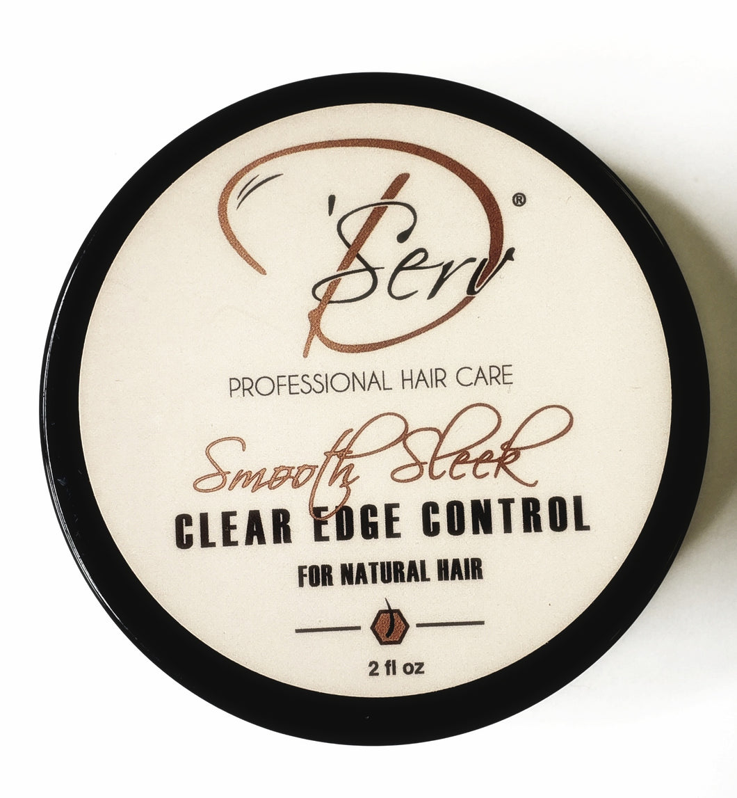 Smooth Sleek Clear Edge Control