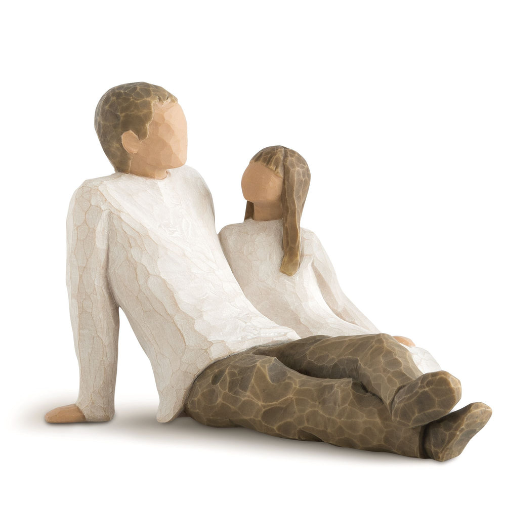 Father and Daughter Figurine by Willow Tree