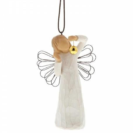 Angel of Wonder Ornament by Willow Tree