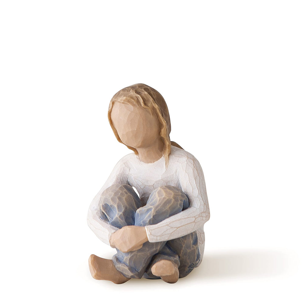 Spirited Child Figurine by Willow Tree