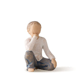Inquisitive Child Figurine by Willow Tree