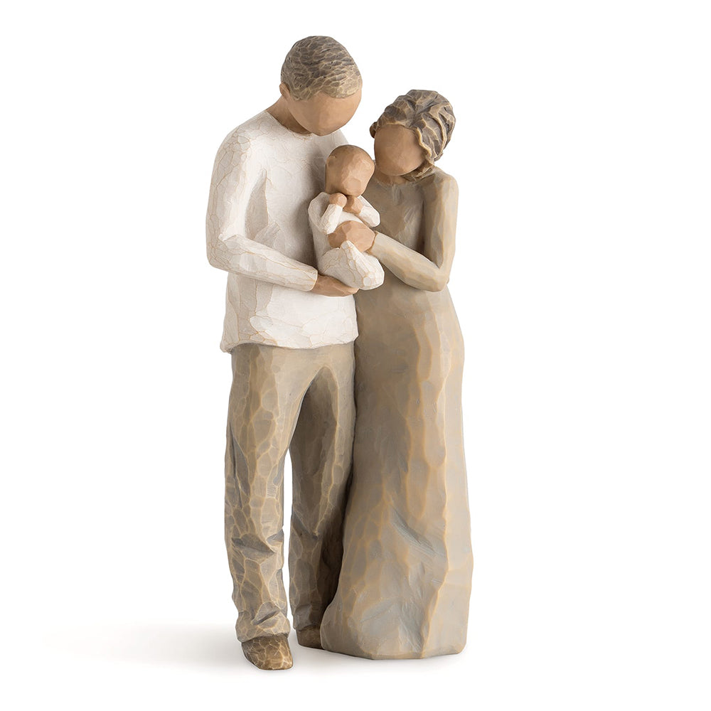 We are Three Figurine by Willow Tree