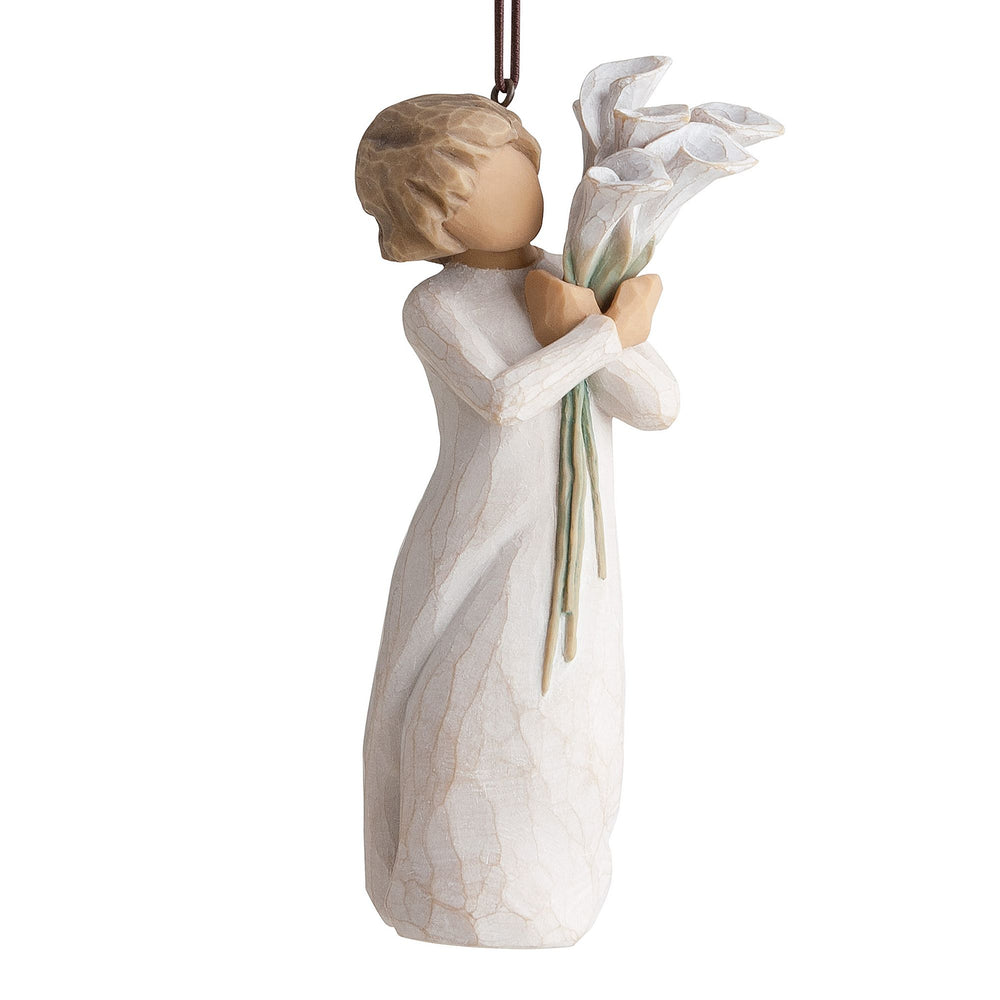 Beautiful Wishes Ornament by Willow Tree