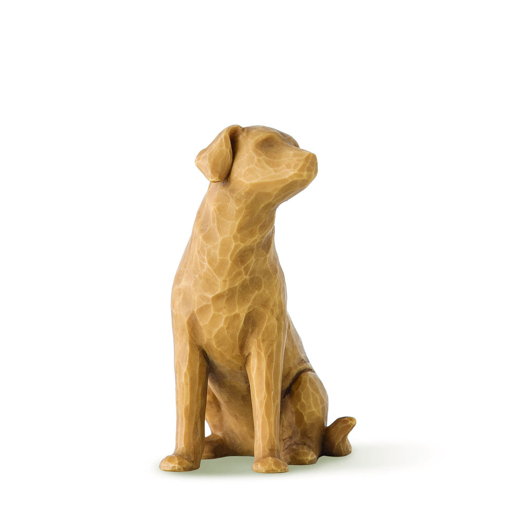Love my Dog (light) Figurine by Willow Tree