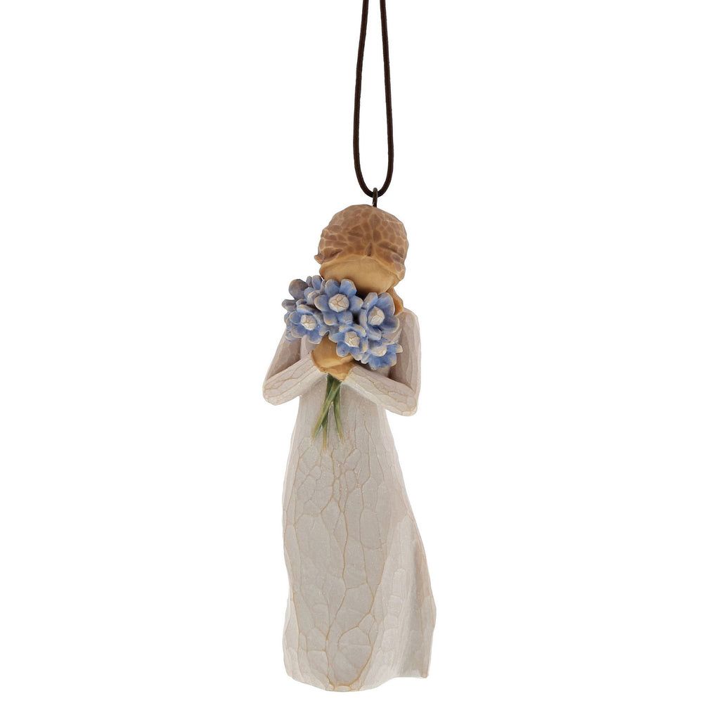 Forget me not Ornament by Willow Tree