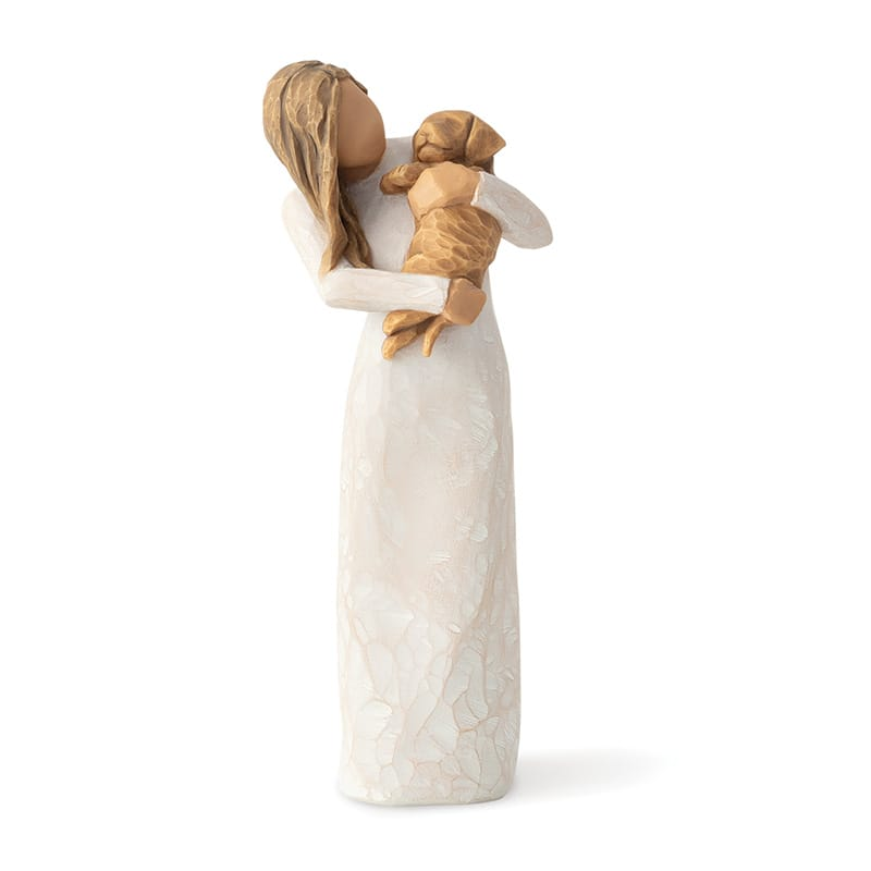Adorable You ( golden dog) Figurine by Willow Tree