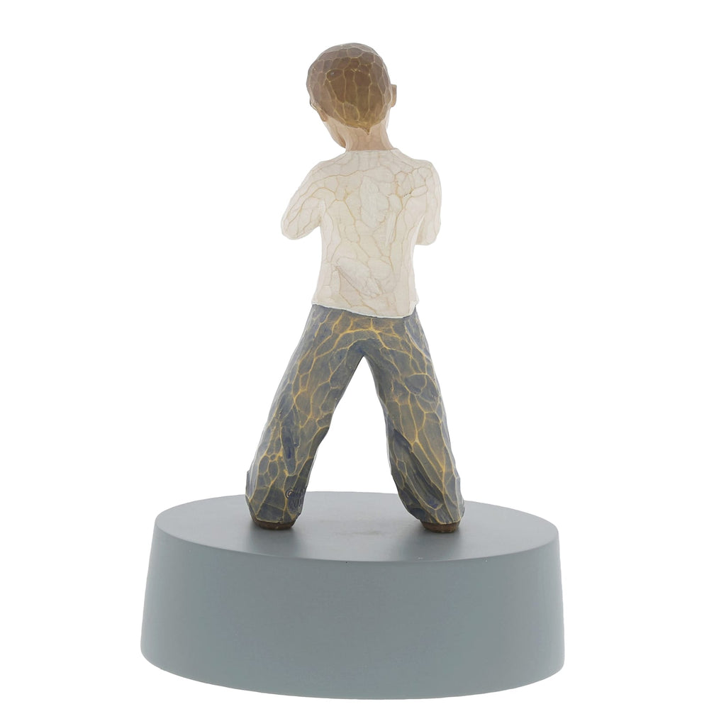 Heart of Gold - Boy Figurine by Willow Tree