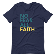 Load image into Gallery viewer, No Fear UNISEX Tee - Navy Blue