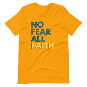 No Fear UNISEX Tee - Gold