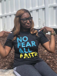 No Fear UNISEX Tee - Dark Grey