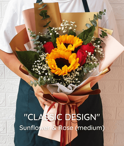 CLASSIC DESIGN: Sunflower