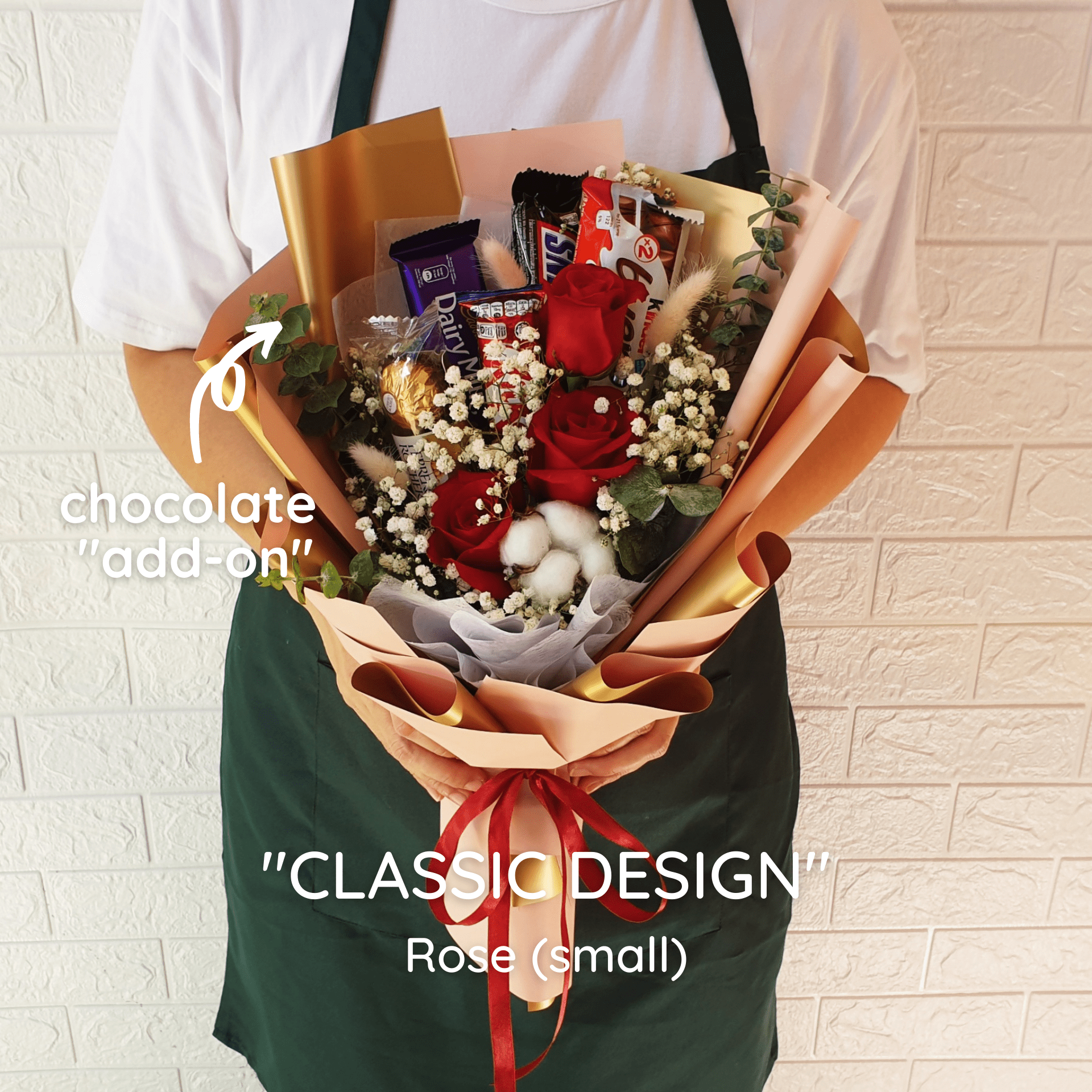 CLASSIC DESIGN: Rose - Happy Florist Kota Kinabalu