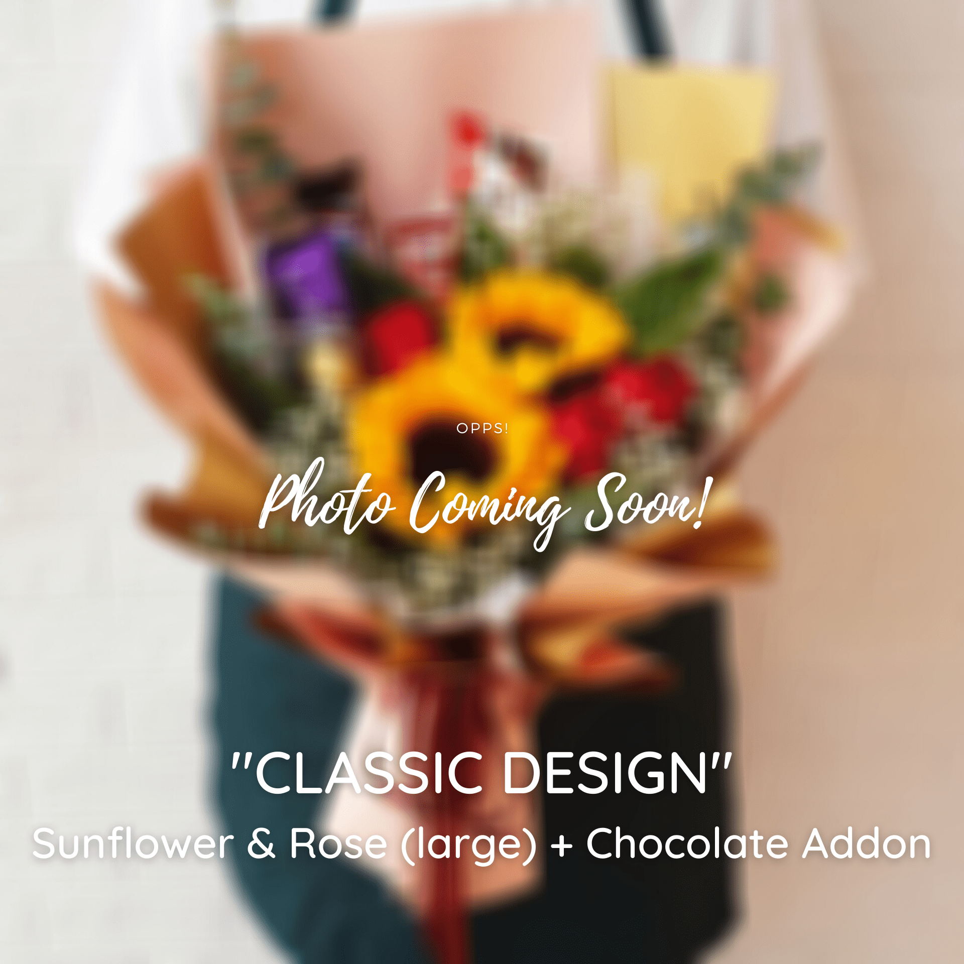 CLASSIC DESIGN: Sunflower - Happy Florist Kota Kinabalu