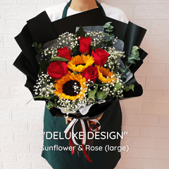 DELUXE DESIGN: Sunflower - Happy Florist Kota Kinabalu