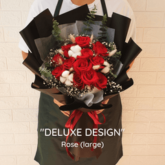 DELUXE DESIGN: Rose - Happy Florist Kota Kinabalu