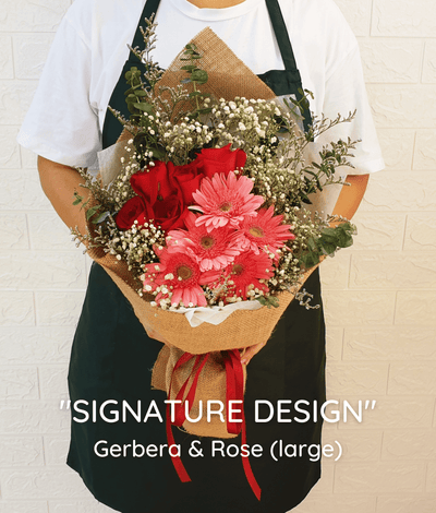 SIGNATURE DESIGN: Gerbera