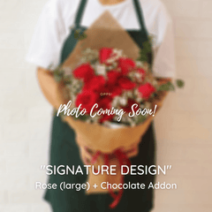 SIGNATURE DESIGN: Rose - Happy Florist Kota Kinabalu