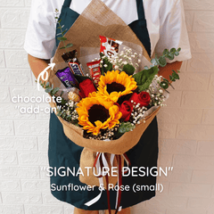SIGNATURE DESIGN: Sunflower - Happy Florist Kota Kinabalu