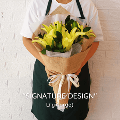 SIGNATURE DESIGN: Lily - Happy Florist Kota Kinabalu