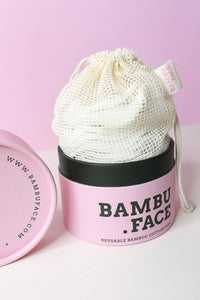 bambu face , bamboo face pads, reusable face pads, reusable cotton pads