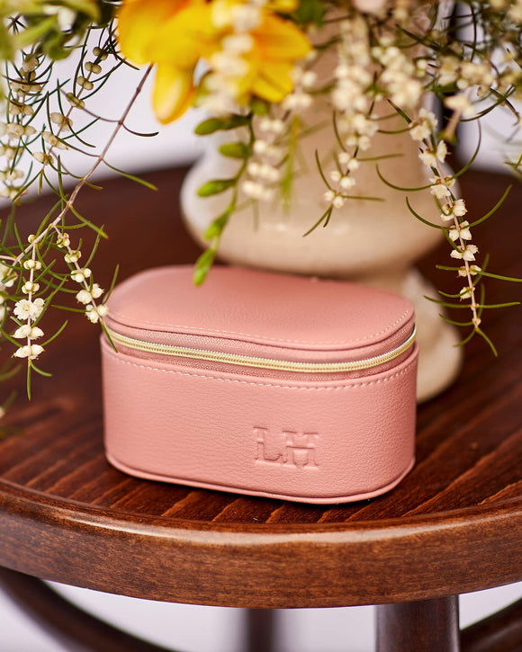 Olive Jewellery Box (Blush)