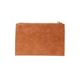 New York Clutch (Tan Pebble)