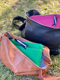 Bowery Bag (Tan Pebble)