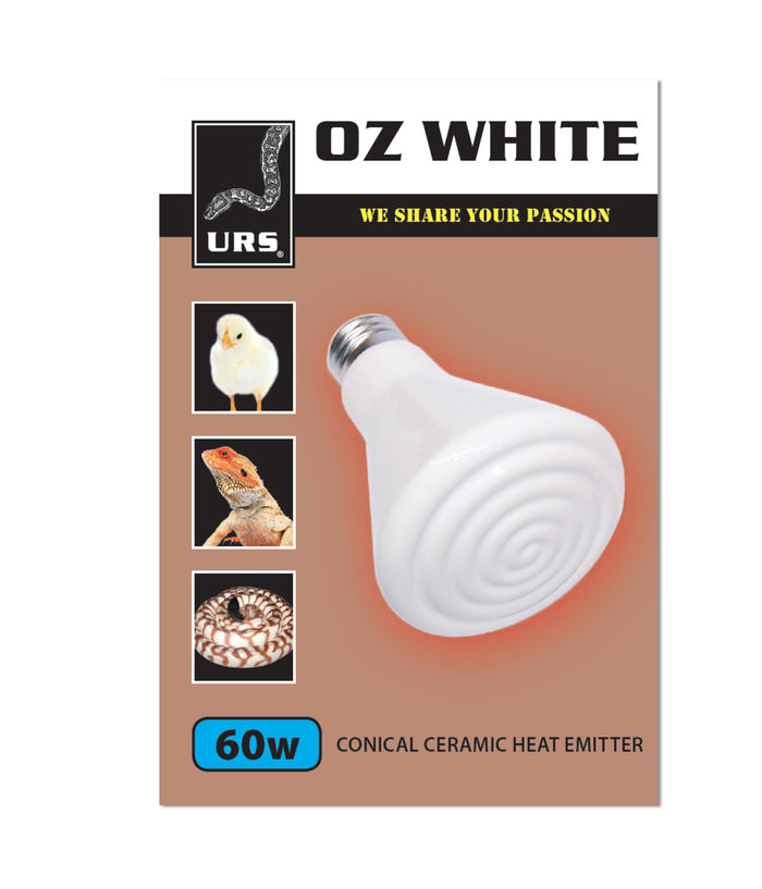 URS Oz White Ceramic Heat Emitters