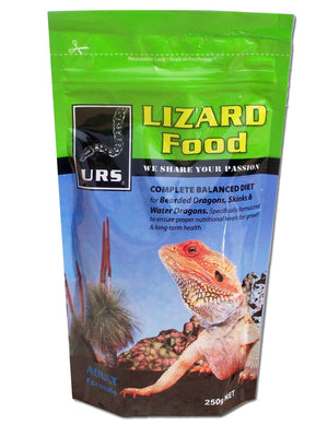 URS Lizard Food - Adult 250g