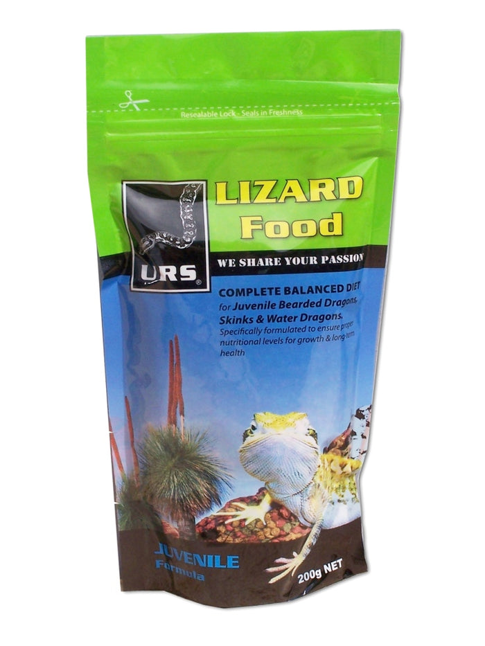 URS Lizard Food - Juvenile 200g