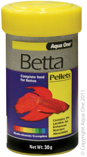 Aqua One Betta Pellets