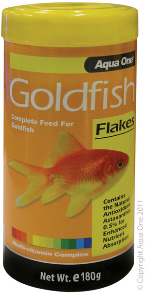 Aqua One Goldfish Flake Food