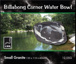 URS BILLABING WATER BOWL GRANITE SMALL