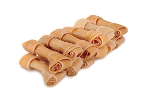 Kazoo Natural Knot Bone - 10cm, 12pack, 300g