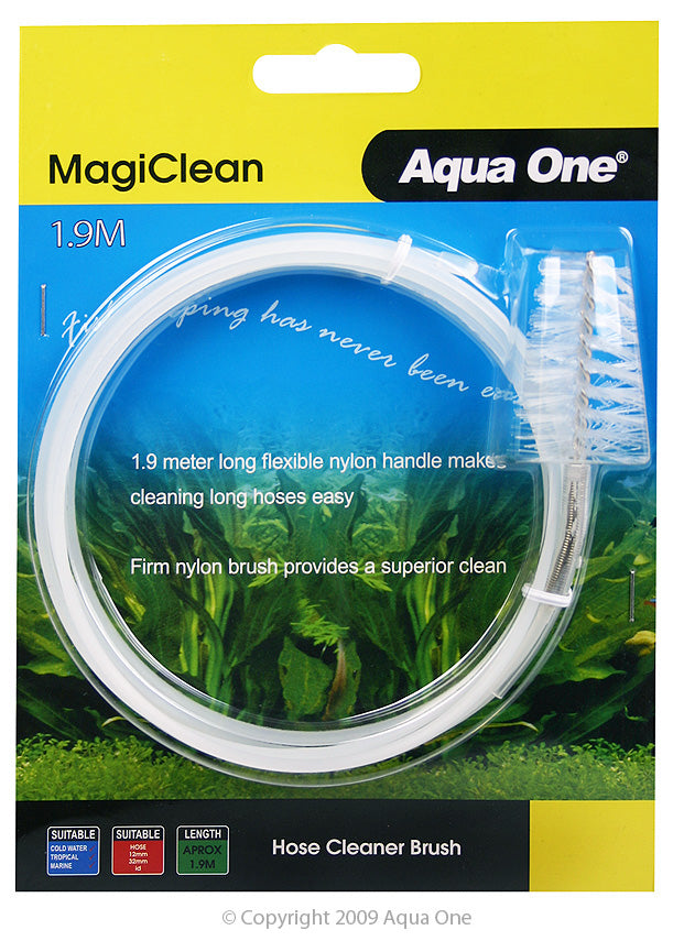Aqua One MagiClean Hose Cleaner Brush 1.9m