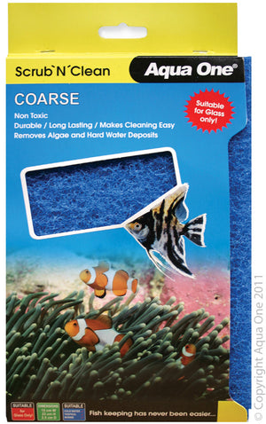 Aqua One Scrub N Clean Algae Pad Coarse