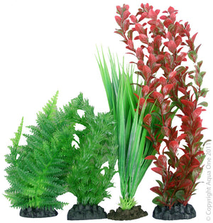 Aqua One Plastic Plant Pack | No 1