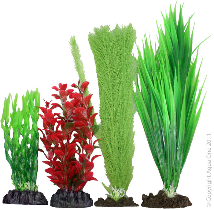 Aqua One Plastic Plant Pack | No 2