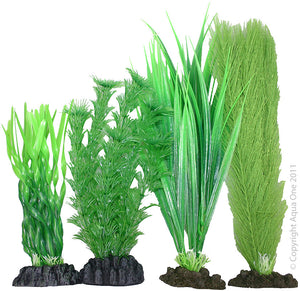Aqua One Plastic Plant Pack | No 4