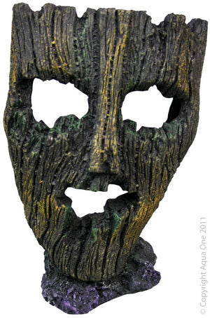 Aqua One Ruined Mask Ornament | Large