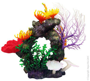 Aqua One Copi Coral Purple Gorgonian Ornament
