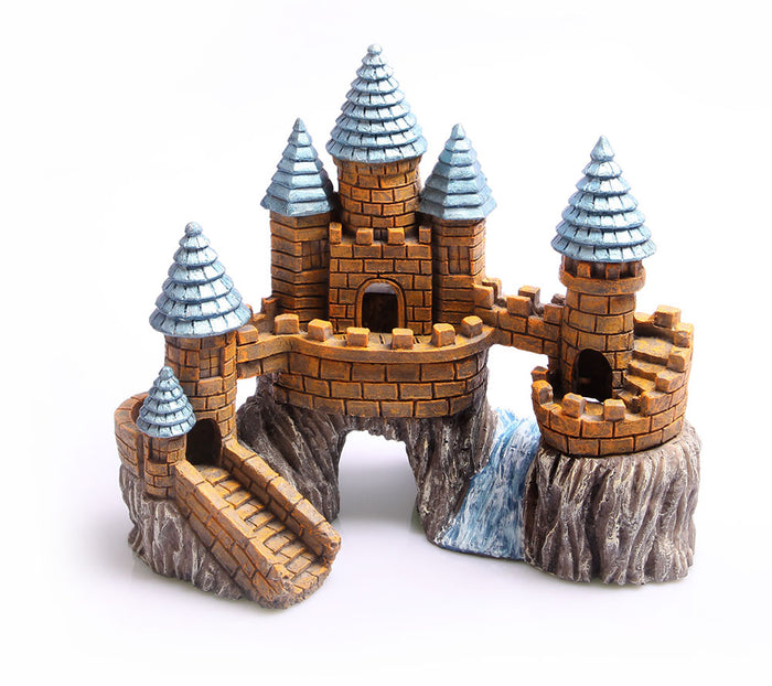 Aqua One Castle on the Rock with River Ornament