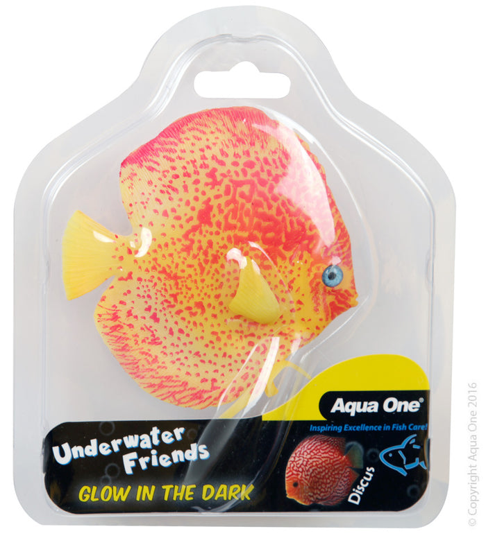 Aqua One Underwater Friends Glow in the Dark Discus
