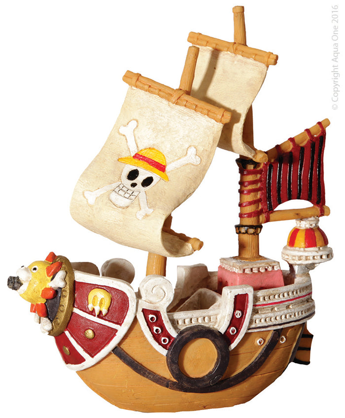 Aqua One Large Pirate Ship Ornament