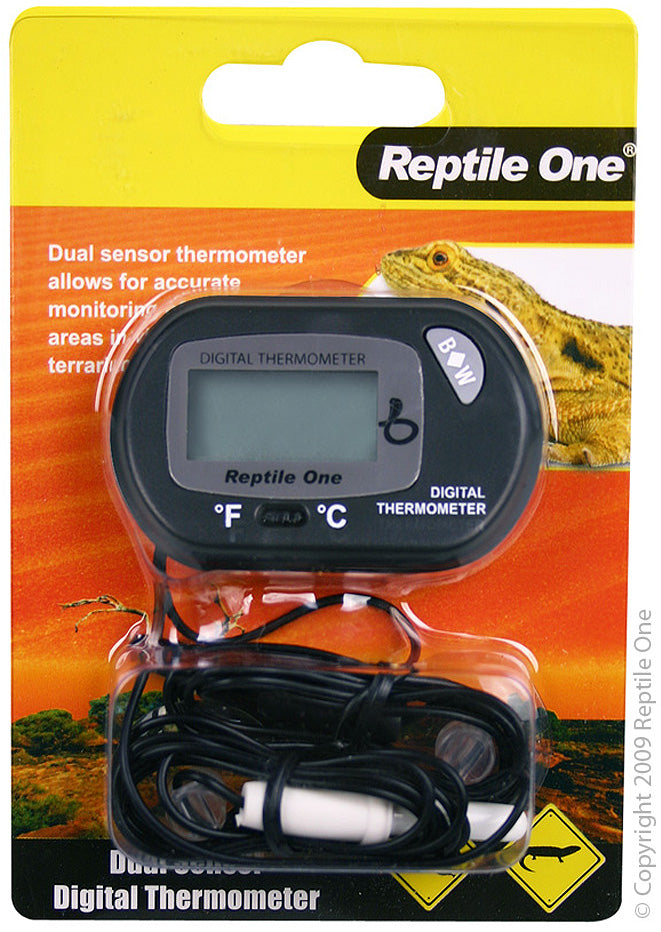 Reptile One Dual Zone LCD Thermometer